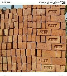 Red Bricks, For Side Walls