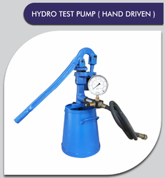 Manual Hydrostatic Test Pump