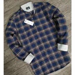 Mark Me Chinese Collar Casual Shirt