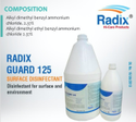 Surface Disinfection : Radix Guard 125