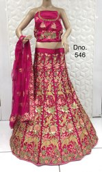 Heavy Embroidered Lehenga Choli With Beautiful Design