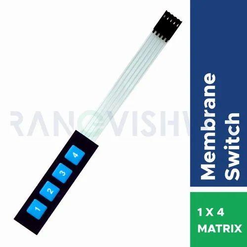 1x4 Matrix Membrane Keypad