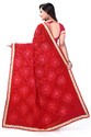 Designer Festival New Arrival Fully Ribbon Work  Red Color Saree