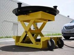 ROTARY PLATFORM SCISSOR LIFT TABLE
