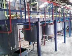 Lubricant Blending Plant