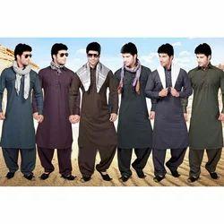 Cotton Plain Kurta Pajama Fabric