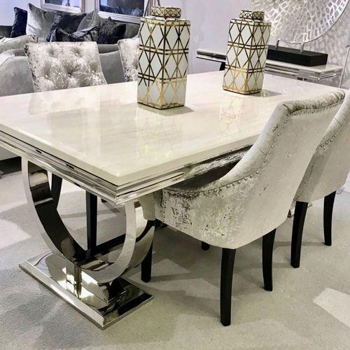 Wooden Marble Dining Table Set Rs 50000 Piece Gomti Super Bazar Llp Id 20366620873