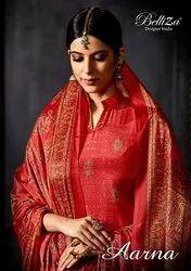 Aarana Belliza Designer Crepe Suit