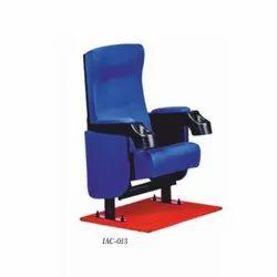 IAC-013 Blue Push Back Theater Chair