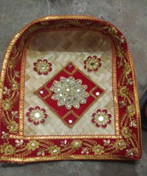 Fancy Hand Decorated Chaaj Suup Pooja Item