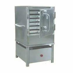 Stainless Steel Catering Food Warmer SS Idli Steamer Machine, For Restaurant, 230 V