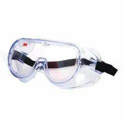 Polycarbonate Transparent 3M 1621 Safety Goggle