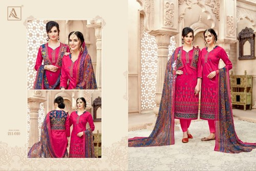 857cebe723 Cotton Kajri Suites, Rs 850 /piece, Rajni Embroidery   ID: 20757609055
