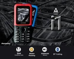 2G Black Keypad Phone, Model Name/Number: Ik 001, 3.5