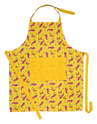 Chilli Printed Kitchen Apron