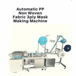 Automatic PP Non Woven 3Ply Mask Making Machine