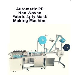 Fully Automatic 3Ply Mask Making Machine