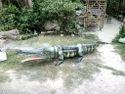 Fiberglass Crocodile Statues