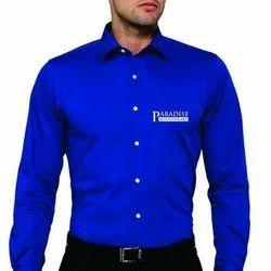 Knitmax Plain Men Corporate Cotton Shirt, Size: M To Xxl, Handwash