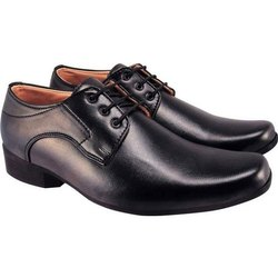 Action Black Formal Shoes, Size: 6-10