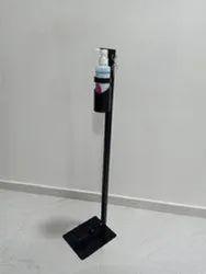 Mild Steel Floor Mounted Touch Less Hand Sanitizer Dispenser