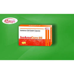 Isotretinoin Softgel Capsules, For Hospital,Clinic, Packaging Type: Box