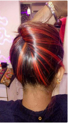 Men And Women Latest Trend Hair Color Service
