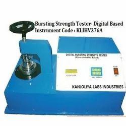 Bursting Strength Tester Micro Processor Based