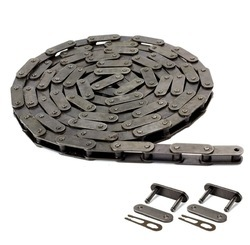 Double Bush Conveyor Chain For Volvo Paver