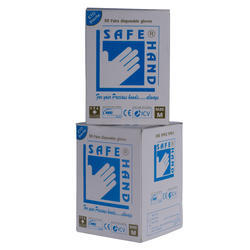 Copolymer White Safe Hand EVA Gloves Sterile