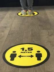 Floor Graphics Social Distancing