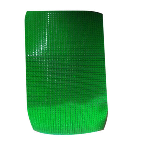 Green Plain Plastic Floor Mat, 10-20 Mm