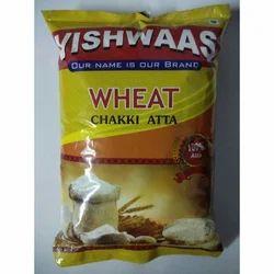 Vishwaas Organic Wheat Flour, High in Protein