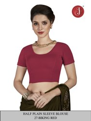 Jelite Cotton Stretchable Saree Blouse