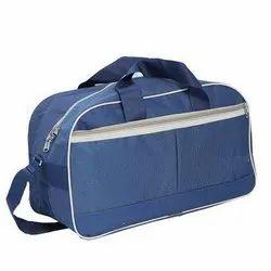 Polyester Blue Luggage Bag
