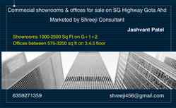 Showrooms And Office For Sale On Gota, Size/ Area: 500-3500