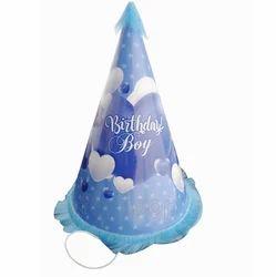Birthday Boy Cap Stars Pattern