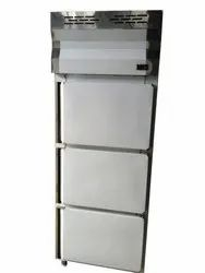 Three Door Vertical Deep Freezer