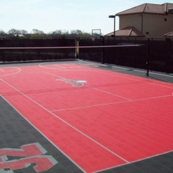 Outdoor Volleyball Court Flooring