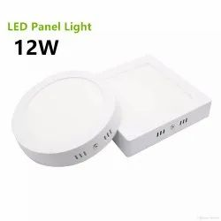 12 W 80mm, 240mm LED Panel Lights, 230, Available Lamp Size: 90mm, 250mm