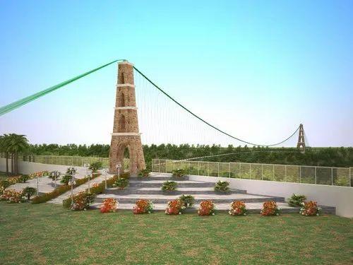 Design And Consultancy Of Wire Rope Suspension Bridges