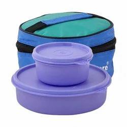 Tupperware Plastic Lunch Box