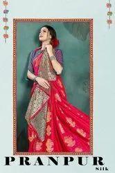 YNF Pranpur Silk Kanjivaram Art Silk Saree Catalog Collection