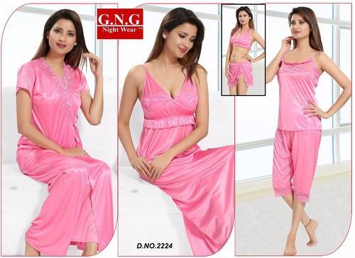 Ladies Stylish 6 Piece Nighty at Rs 450  piece(s)  e018cdd6f