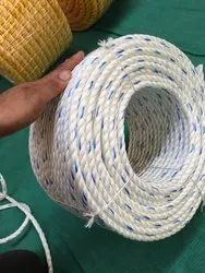 Natural White PP Rope, Size: 4mm-32 mm