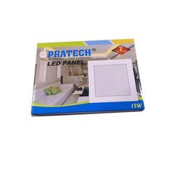 Pratech Ceramic Square LED Panel Light, 15 W