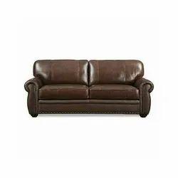 2 Seater Brown Sofa, Warranty: 3 Year