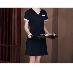 Spa uniform at best price in india for Spa uniform cotton