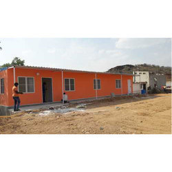 Stainless Steel Prefabricated Building Shed