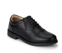 Black Lace Up Oxford Formal Shoes